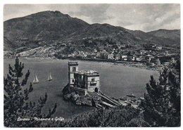 LEVANTO (LA SPEZIA) - MIRAMARE E GOLFO / ANNULLO A TARGHETTA LEVANTO SOGGIORNO TRANQUILLO - La Spezia
