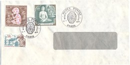 FRANCIA - France - 1979 - 1,70 Année Internationale De L'enfant + 1,80 Temple De Borobudur + 1,50 Victor Segalen - Cache - Cartas