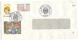 FRANCIA - France - 1979 - 1,30 F.Poulbot + 1,70 Palais Des Rois De Majorque Perpignan + 2,00 Miniature XVe S. - Cachet S - Cartas