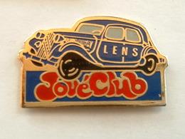 PIN'S  CITROËN TRACTION   - JOUE CLUB LENS - Citroën