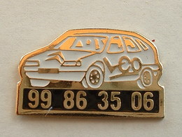 PIN'S  CITROËN - LCO - Citroën