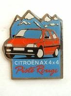 PIN'S  CITROËN AX 4x4 PISTE ROUGE - Citroën