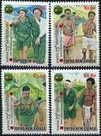 Papua New Guinea. 2017. 75th Anniversary Of The Kokoda Trail Campaign (MNH OG **) Set Of 4 Stamps - Papouasie-Nouvelle-Guinée