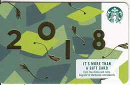 USA - 2018, Starbucks Card, CN : 6152, Unused - Gift Cards