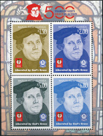 Papua New Guinea. 2017. 500th Anniversary Of The Reformation (MNH OG **) Miniature Sheet - Papouasie-Nouvelle-Guinée