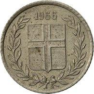 Iceland, 10 Aurar, 1966, TTB, Copper-nickel, KM:10 - Iceland