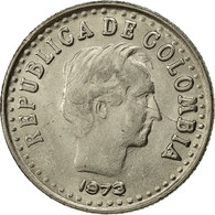 Colombie, 20 Centavos, 1973, TTB+, Nickel Clad Steel, KM:246.1 - Colombia