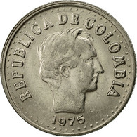 Colombie, 20 Centavos, 1975, SUP, Nickel Clad Steel, KM:246.1 - Colombia