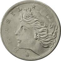 Brésil, 5 Centavos, 1975, TTB+, Stainless Steel, KM:587.1 - Brasil