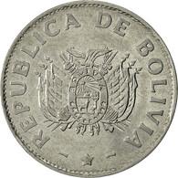 Bolivie, Boliviano, 1991, TTB+, Stainless Steel, KM:205 - Bolivia