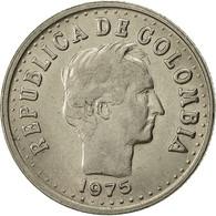 Colombie, 20 Centavos, 1975, TTB+, Nickel Clad Steel, KM:246.1 - Colombia