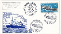 TAAF - Enveloppe FDC - Campagnes Australes M.S. Galliéni - Archipel Des Kerguelen - 25 Janvier 1973 - FDC