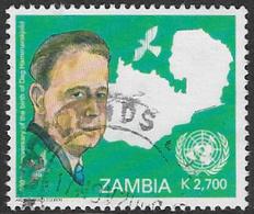 Zambia SG970 2005 Dag Hammarskjold 2700k Good/fine Used [37/30778/2D] - Zambia (1965-...)
