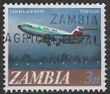 Zambia SG131 1968 Definitive 3n Good/fine Used [37/30779/2D] - Zambia (1965-...)