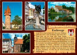 73229611 Eschwege Rathaus Duenzebacher Tor Schlossmuehle Eschwege - Eschwege