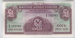 BRITISH ARMED FORCES M36 1962 1 Pound UNC - United Kingdom