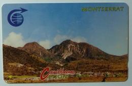 MONTSERRAT - 3CMTB- $20 - MON-3B - Low Issue Control - Used - Montserrat