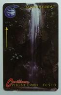 MONTSERRAT - $10 - Waterfall - 1991 - 3CMTA - VF Used - Montserrat