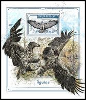 MOZAMBIQUE 2018 MNH** Eagles Adler Aigles S/S - OFFICIAL ISSUE - DH1818 - Adler & Greifvögel