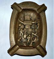 ANCIEN VIDE POCHE EN BRONZE METIER FONDERIE / BE - Bronzes