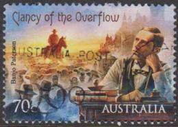 "AUSTRALIA - USED 2014 70c Bush Ballads - Banjo Paterson - ""Clancy Of The Overflow""- Horse - Usati"