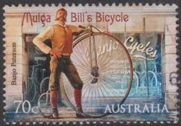"""AUSTRALIA - USED 2014 70c Bush Ballads - Banjo Paterson - """"Mulga Bill's Bicycle""""- Horse - Usati"""