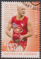 AUSTRALIA - USED 2012 60c Legends Of Football - Gary Ablett Jr. - 2010-... Elizabeth II