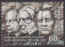 AUSTRALIA - USED 2012 60c Inland Explorers - Blaxland, Wentworth And Lawson - Usati