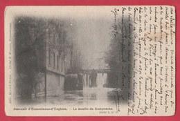 Ecaussinnes D'Enghien  - Le Moulin Du Ramponeau - 1907 ( Voir Verso ) - Ecaussinnes