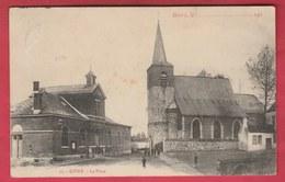 Givry - La Place - 1912 ( Voir Verso ) - Quévy