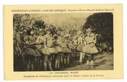 CPA CENTRE AFRIQUE EXPEDITION CITROEN INDIGENES DE L'OUBANGUI - Central African Republic