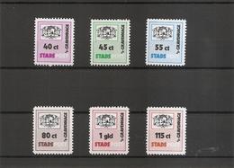 Pays-Bas - Postes Privées ( Série Complète De 6 Timbres Privés De S'Gravenhage) - Andere