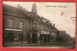 CROISILLES - Rue De St-Léger - (Hôtel Des Voyageurs) - - Croisilles