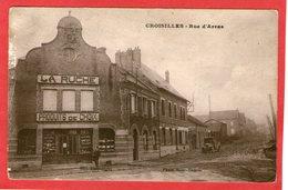 CROISILLES - Rue D'Arras- (La Ruche) - - Croisilles