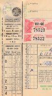 15942) SCHEDINA TOTOCALCIO 6/12/1981 CON SCHEDA SISTEMISTA - Vieux Papiers