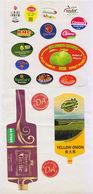 Fruit Label Apple  Pomelo Orange  Mixed - Fruits & Vegetables