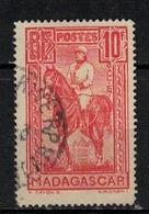MADAGASCAR     N°  YVERT   187    OBLITERE       ( O   3/18 ) - Madagascar (1889-1960)