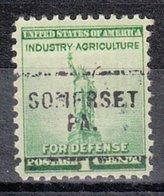 USA Precancel Vorausentwertung Preo, Locals Pennsylvania, Somerset 703 - Vereinigte Staaten