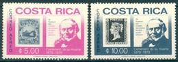 Costa Rica - 1979 - Yt PA 745/746 - Centenaire De La Mort De Rowland Hill - ** - Costa Rica