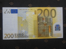 """200 EURO """"P"""" Netherlands, Olanda  Duisenberg G 001 D4...Look At The Picture - EURO"""