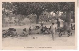 IND001 CPA INDE - PONDICHERY   GROUPE DE COREVAS   NV - Inde