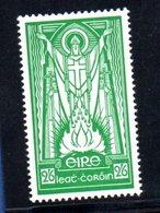 Irlande / N90 / 2/6 Vert / NEUF Avec Trace De Charnière - 1937-1949 Éire