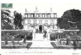 Auteuil. Le Chateau De La Villa Des Cyclamens Vu Du Coté Est. - Autres Communes
