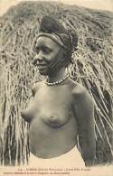 JEUNE FILLE FOULAH - 154 - Collection Générale De La Guinée Française - A. James Conakry (nu) - Guinée