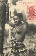 FILLE SOUSSOU - étude N°64 - 1385 - Collection Générale Fortier, Dakar - (nu) - Guinea