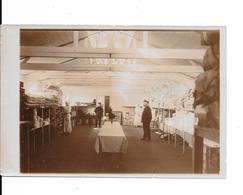 """ADINKERKE """"De Panne"""" - Hôpital Militaire Belge CABOUR - Le Magasin - Photo Format: 18/12cm - 2 Scans - De Panne"""