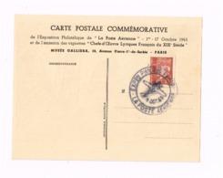 """Exposition Philatélique """"La Poste Aérienne"""". Carmen. - 1927-1959 Briefe & Dokumente"""