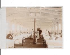 """ADINKERKE """"De Panne"""" - Hôpital Militaire Belge CABOUR - Pavillon Des Blessés - Photo Format: 18/12cm - 2 Scans - De Panne"""