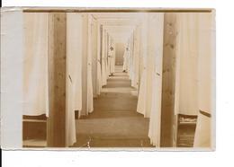 """ADINKERKE """"De Panne"""" - Hôpital Militaire Belge CABOUR - Dortoir Des Infirmières - Photo Format: 18/12cm - 2 Scans - De Panne"""