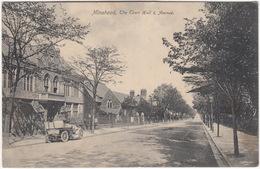 BRASS ERA CAR - ROLLS ROYCE 10 H.P. ? - Tonneau :  Minehead, The Town Hall & Avenue - (1905) - England - Voitures De Tourisme